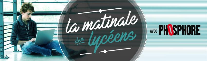 bandeau - 4e édition Matinale des Lycéens
