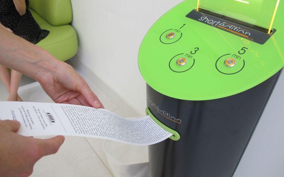 Image de À Lens, une machine distribue des histoires pour chasser l'ennui