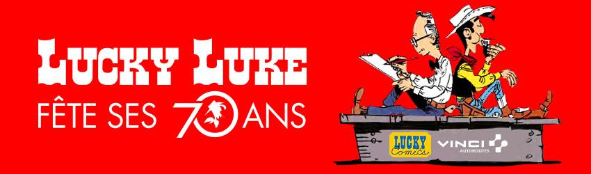 Bandeau Prix Lucky Luke