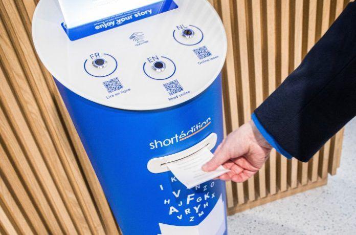 Image de [BEL] Un distributeur d'histoires courtes installé dans la gare du Midi