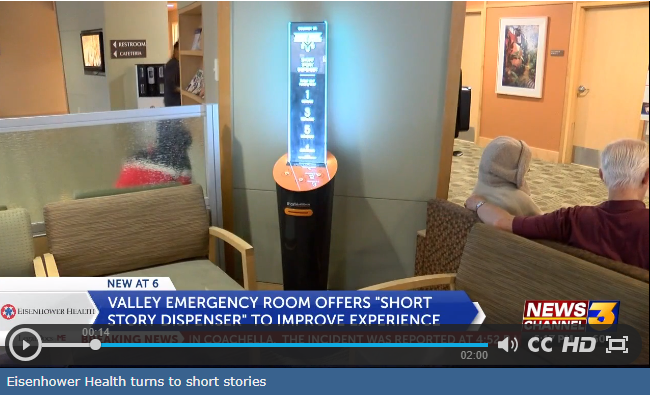 Image of Eisenhower Health turns to short stories to enhance emergency room experience