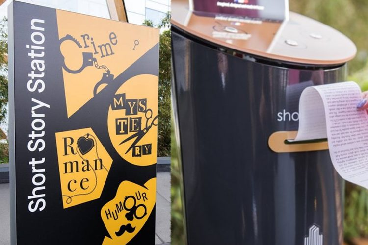 Image de From Dickens To Woolf, These Short Story Vending Machines In The UK Are Giving People Free Literature
