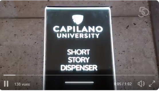 Image of Have you ever heard of a machine that dispenses short stories?