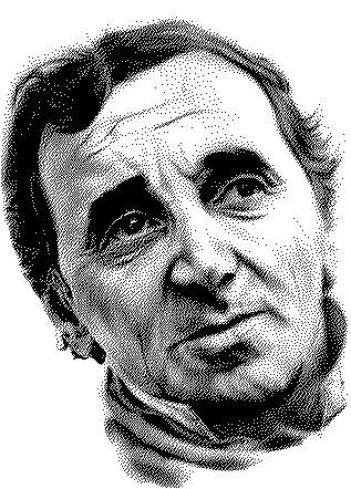comment acheter prix le plus bas En liquidation L'œuvre Hommage à Charles AZNAVOUR (portrait en technique ...