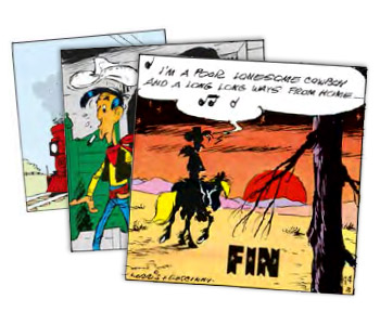 Extraits de Lucky Luke