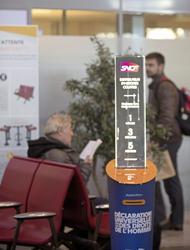 Image of Les gares célèbrent la Déclaration universelle des droits de l'homme