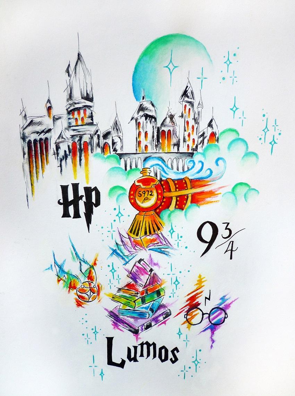 Dessin Simple Harry Potter