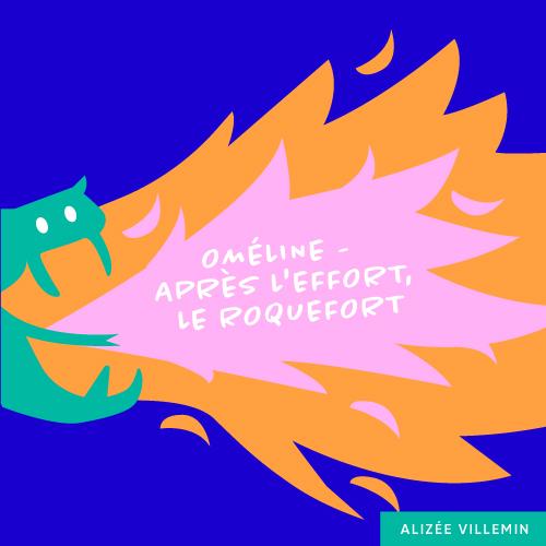 Image de Oméline - Après l'effort, le roquefort