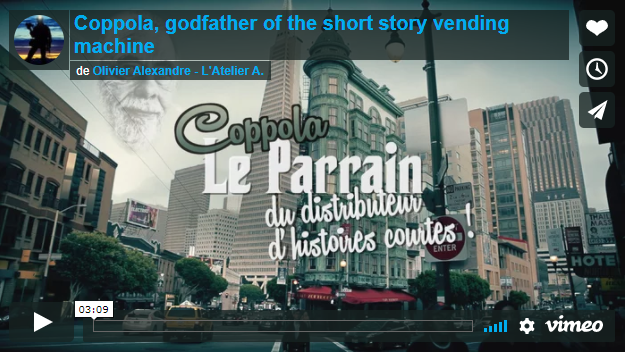 Image de [ US ] A Vending Machine Now Distributes Free Short Stories at Francis Ford Coppola's Café Zoetrope