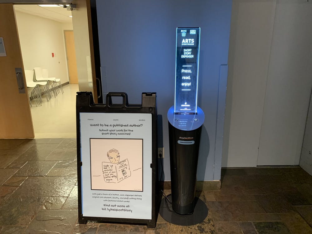 Image de Short story dispensers give students the opportunity to be published