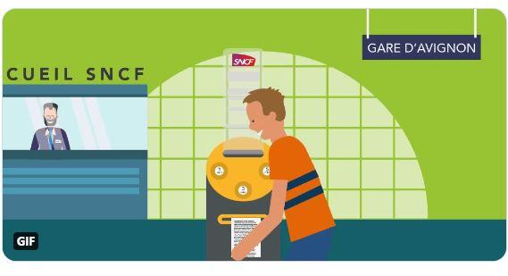 Image de SNCF : des distributeurs à histoires pour patienter en gare