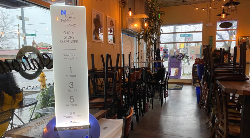Image of [US] The Station Cafe Hosts Washington's First 'Short Story Dispenser' — and It's Free