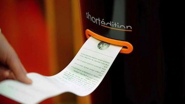 Image de Une machine distributrice d'histoires s'installe à l'Université Capilano