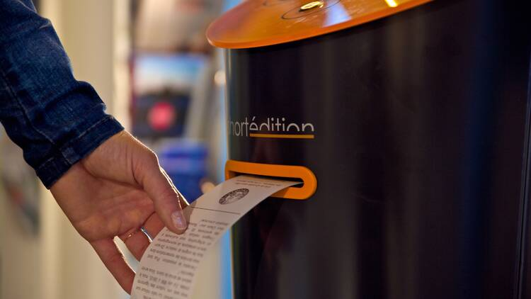 Image de [US] A free short story dispenser is coming to NYC