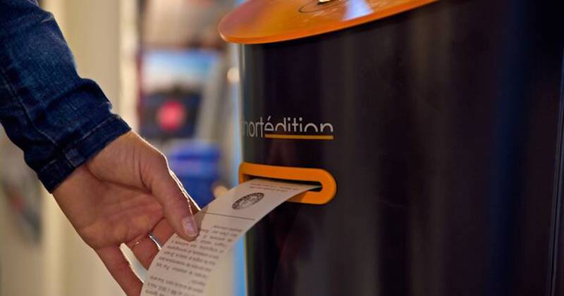 Image de [US] This new vending machine will provide New Yorkers with short stories on the go.
